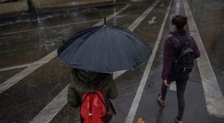 Alerta Temprana Preventiva para 10 comunas de la RM por lluvias