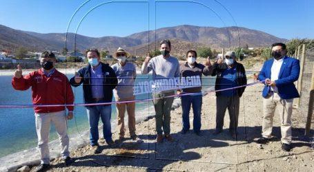 Inauguran obra de riego bonificada por la CNR en la región de Coquimbo