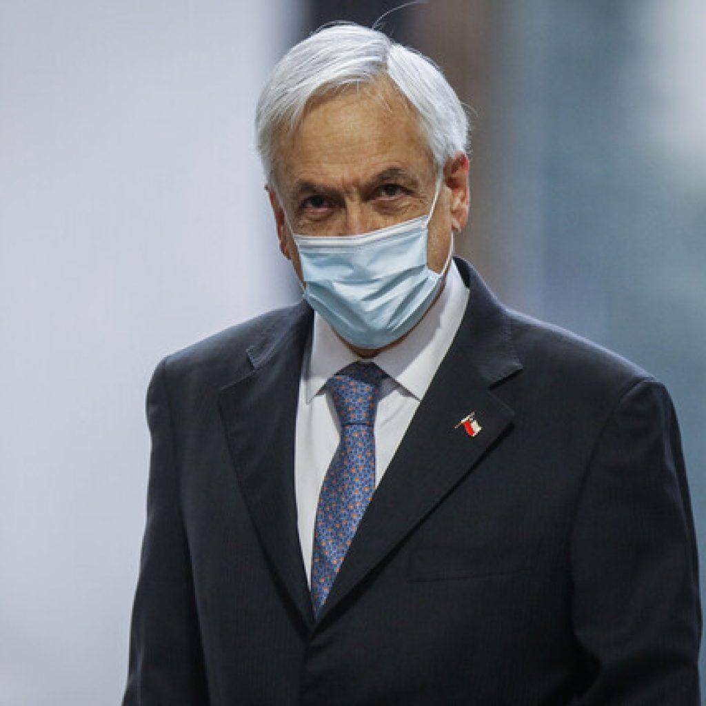 Piñera anuncia que vacunación de menores comenzará el 21 de junio