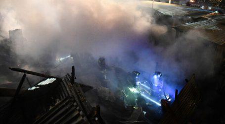 Incendio en campamento de Antofagasta dejó 53 personas damnificadas