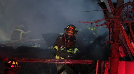 Incendio en Puente Alto dejó 4 lesionados y 26 personas damnificadas