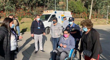 Estadio Sausalito fue dispuesto para vacunar a jóvenes contra el Covid-19