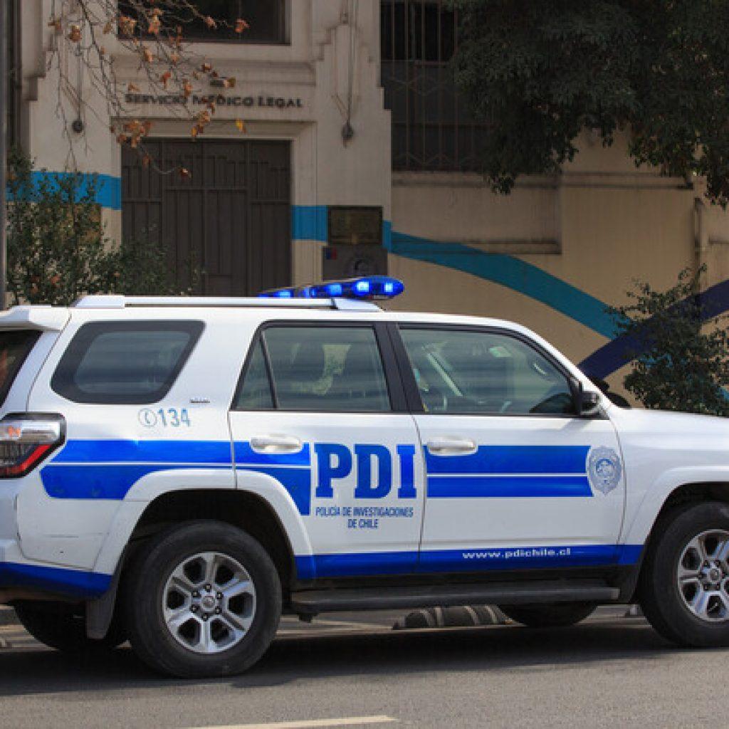 Detienen a sospechoso del crimen de funcionaria de la PDI ocurrido en La Pintana