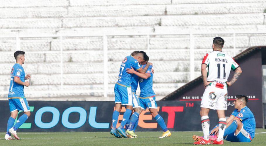 Audax Italiano es el líder del Campeonato Nacional tras vencer a Palestino