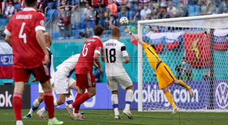 Euro 2020: Rusia venció con lo justo a Finlandia y se mete en carrera