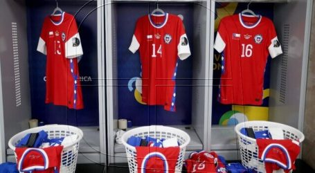 La selección chilena jugará sin marca en su camiseta ante Bolivia