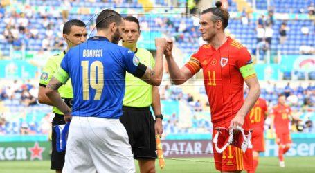 Euro 2020: Italia venció con lo justo a Gales y se adjudica el Grupo A