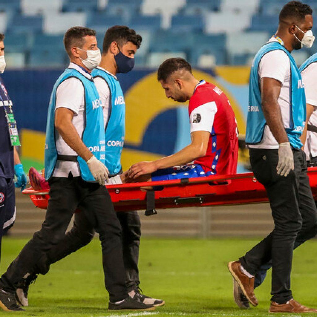 Copa América: Cuerpo médico de la 'Roja' informa lesiones de Maripán y Pulgar