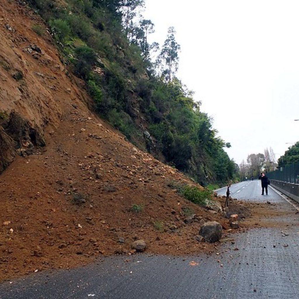 Deslizamiento de tierra dejó al menos 5 heridos en Puerto Montt