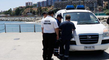 Encuentran un cuerpo flotando frente al puerto de Valparaíso