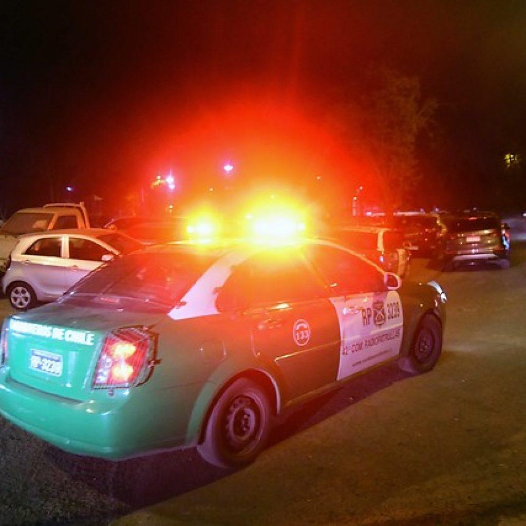 59 personas fueron detenidas por participar de fiesta clandestina en Santiago