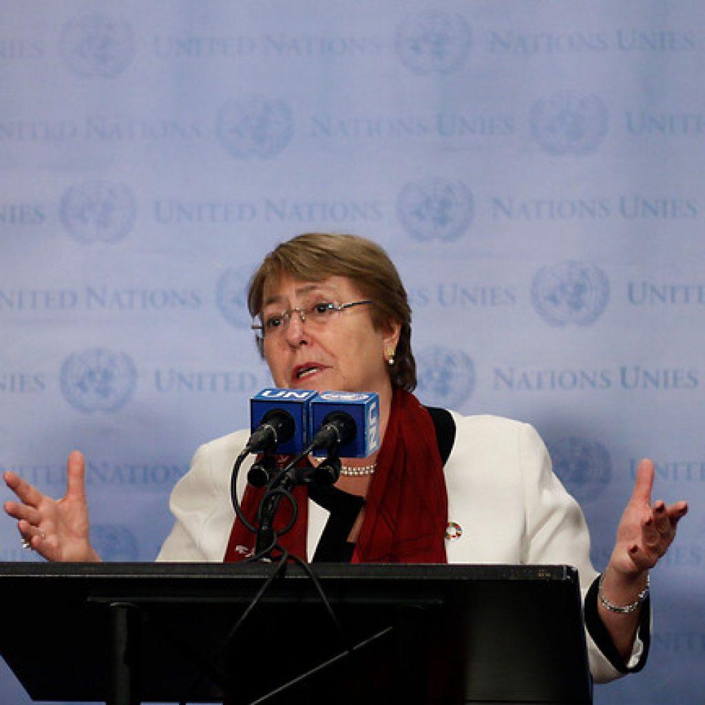 Bachelet hace un llamamiento a la calma tras las elecciones en Perú