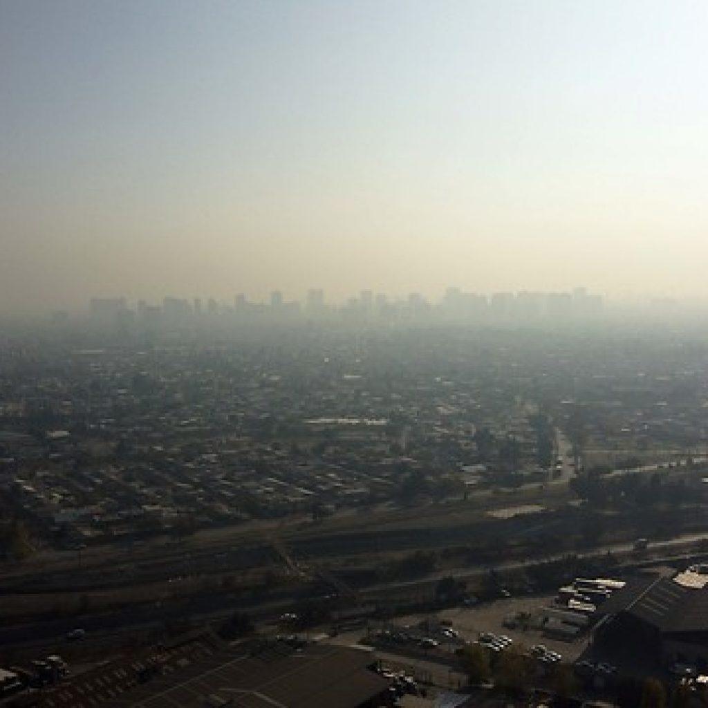 Decretan Alerta Ambiental para este jueves en la Región Metropolitana