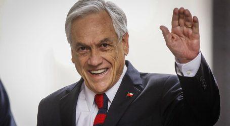 Cadem: Aprobación del Presidente Sebastián Piñera bajó a un 21%