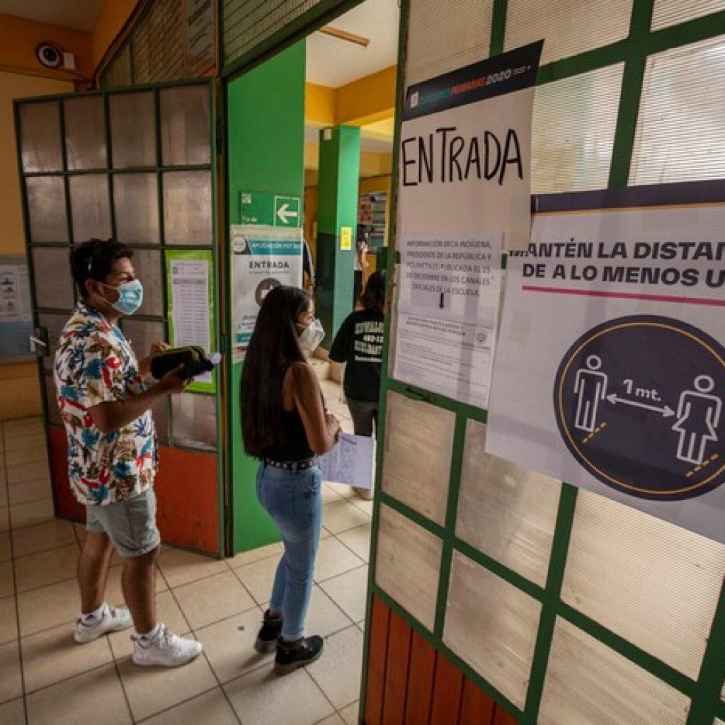 Rezagados podrán inscribirse en la Prueba de Transición del 5 al 23 de agosto
