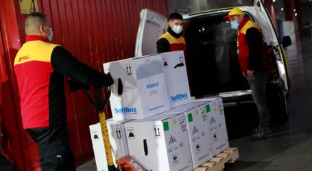 Llegó al país nuevo cargamento de 88.920 vacunas Pfizer-BioNTech