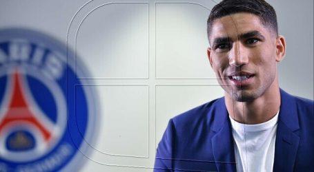 Hakimi dejó el Inter de Milán para fichar por el PSG hasta 2026