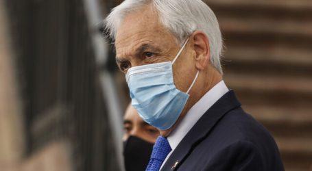 """Piñera asegura que Red de Protección Social estará """"el tiempo que sea necesario"""""""
