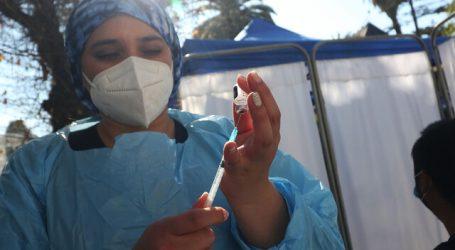 Covid-19: 78,59% de la población objetivo completó su esquema de vacunación