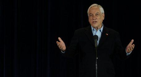 Presidente Piñera prestó declaración ante fiscal por causa de lesa humanidad