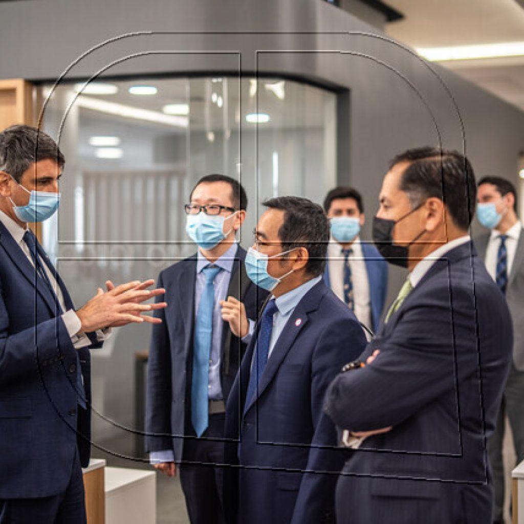 Reciben a delegación de Sinovac por proyecto de instalación de planta de vacunas