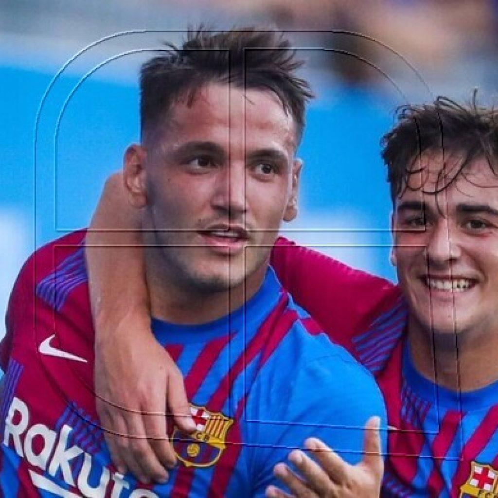 FC Barcelona arranca la pretemporada con un triplete de Rey Manaj
