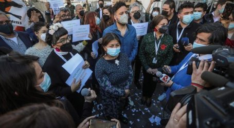 Protestas simultáneas protagonizaron las inmediaciones del exCongreso