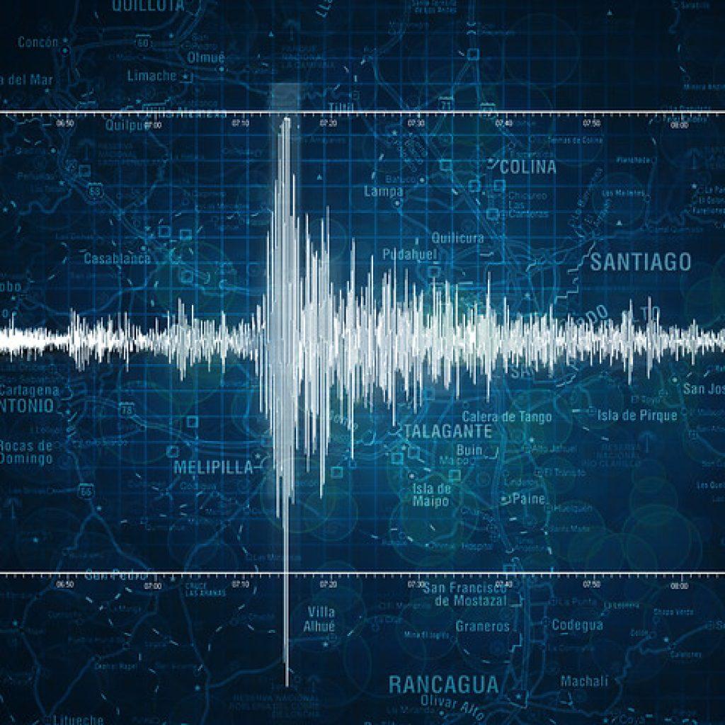 AMP.- Sismo se registró entre las regiones de Valparaíso y O'Higgins