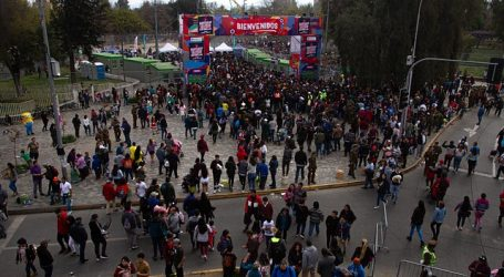 Anuncian suspensión de las fondas en el Parque O'Higgins de Santiago