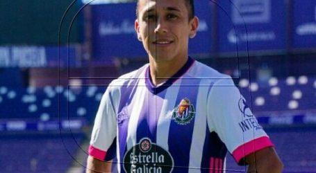 Real Valladolid oficializó la salida del delantero Fabián Orellana