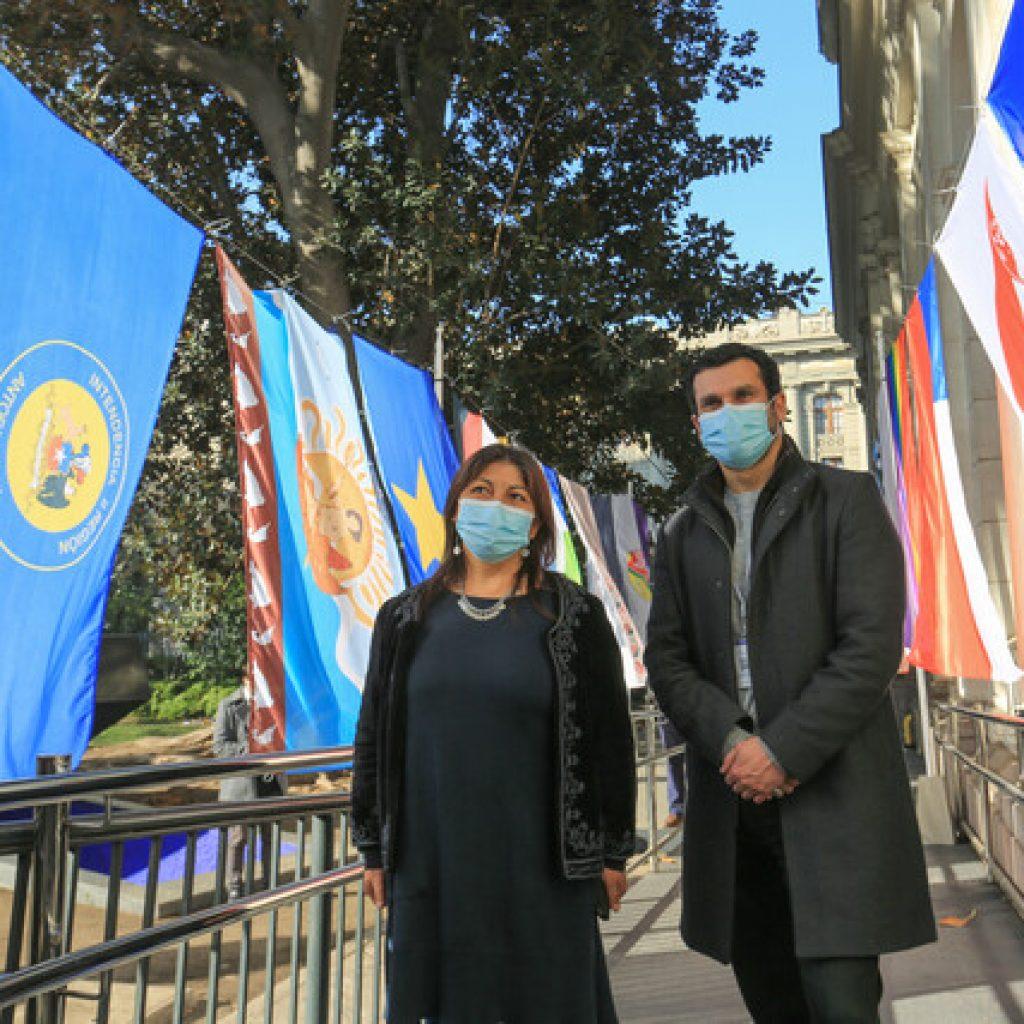 Movilh aplaudió banderas instaladas en la Convención Constitucional