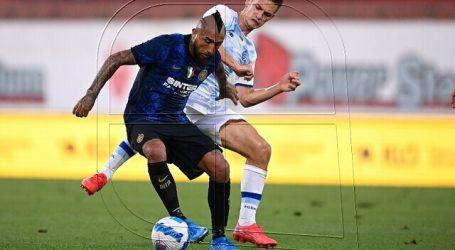 Arturo Vidal ingresó en claro triunfo de Inter sobre Dinamo Kiev en amistoso