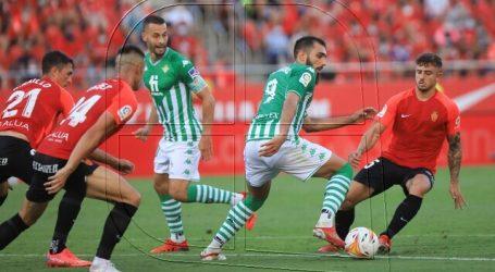 El Betis de Pellegrini se estrena en la Liga 2021-22 con un 1-1 ante el Mallorca