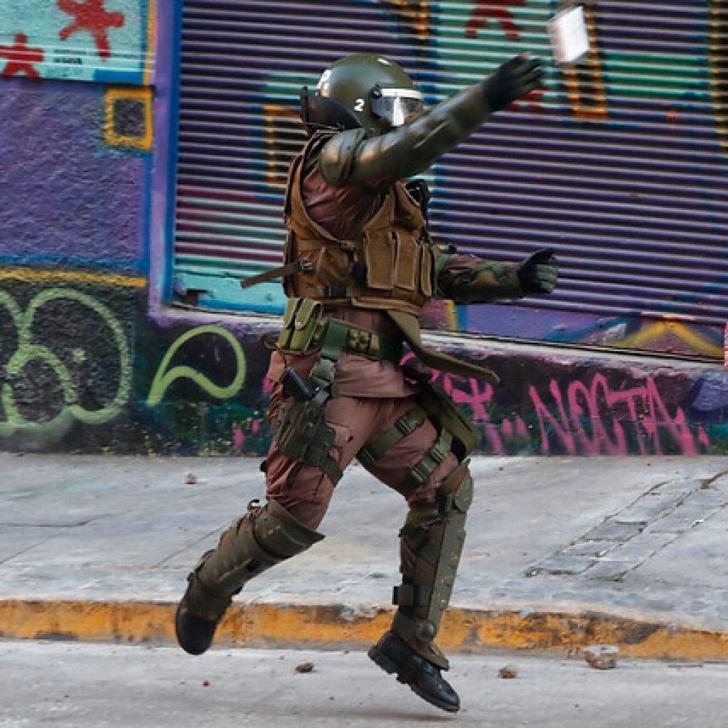 Puerto Montt: Libertad vigilada para excarabinero por violencia innecesaria