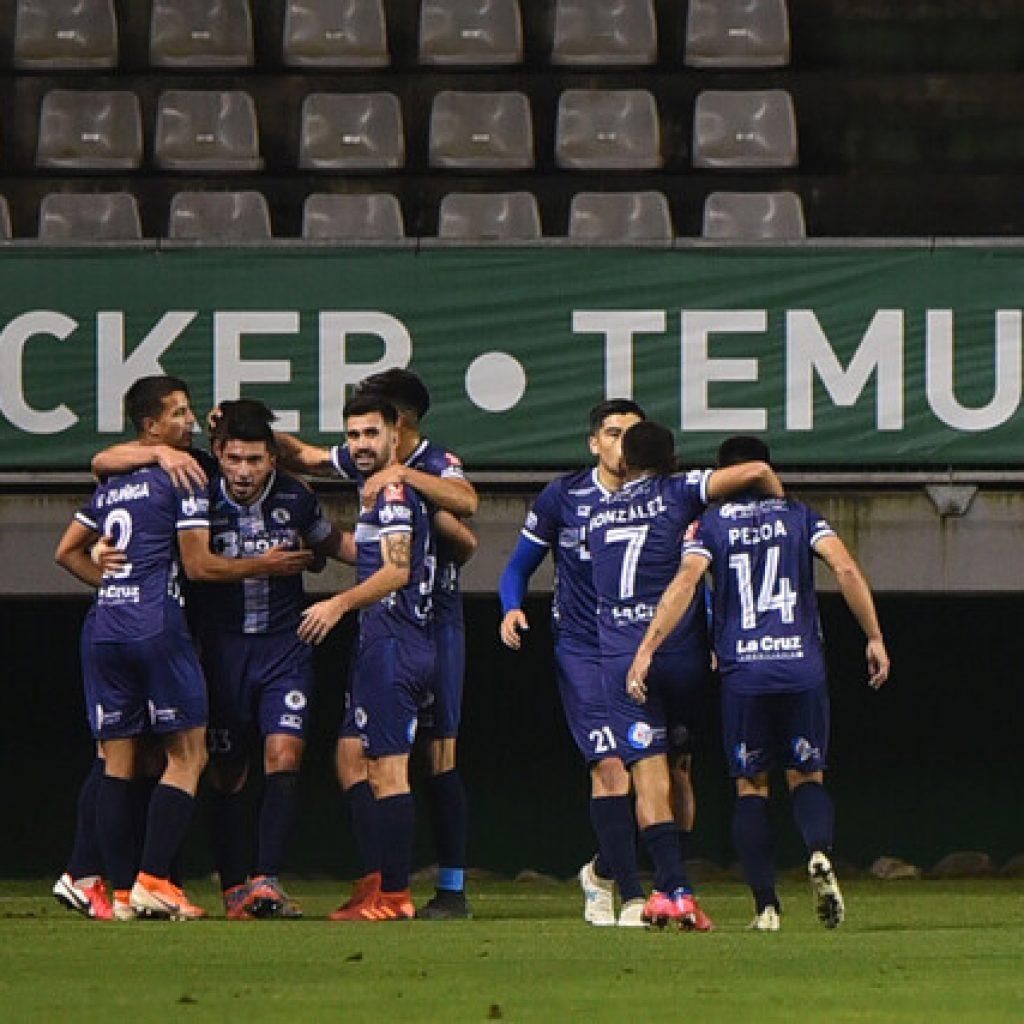 Primera B: Santa Cruz es el nuevo líder tras vencer a Deportes Temuco