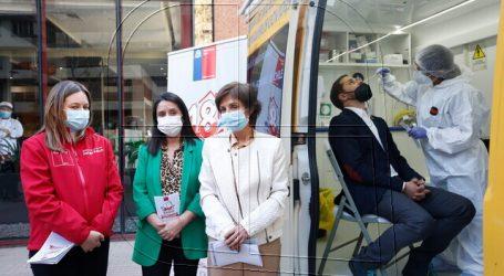 Covid-19: Autoridades lanzan testeo nocturno en la Región Metropolitana