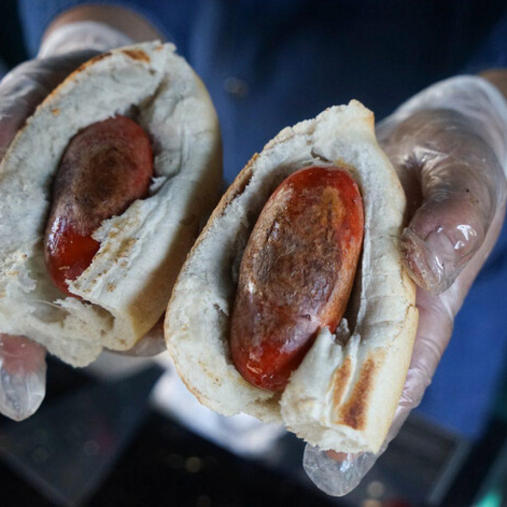 Panaderías de Santiago conmemoraron el Día el Choripán en Marraquetas