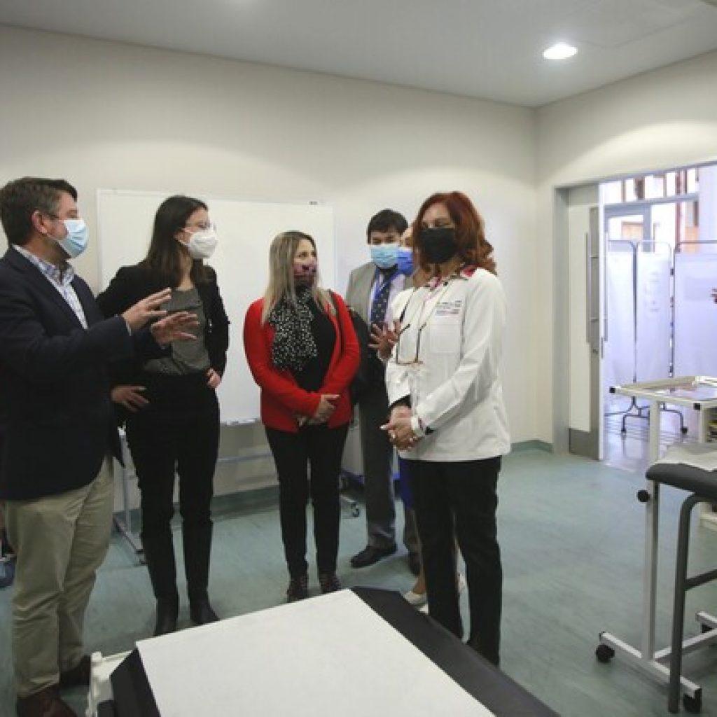 Inauguran nuevo Centro Integral de Salud para zona sur de la comuna de Santiago