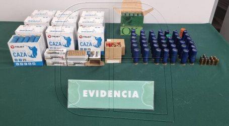 12 detenidos por tráfico de municiones y cohecho en Cauquenes y Constitución