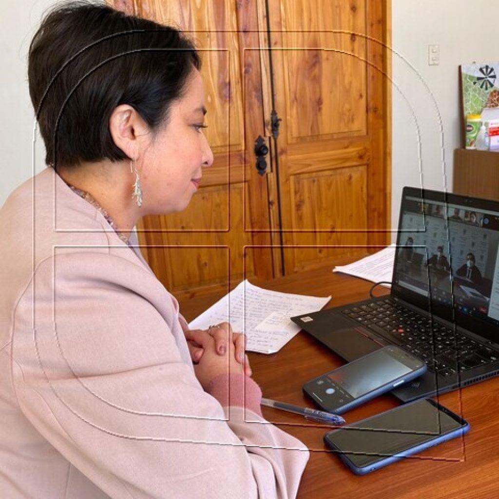 Gobernadora Naranjo pide incorporar glosa presupuestaria por crisis hídrica