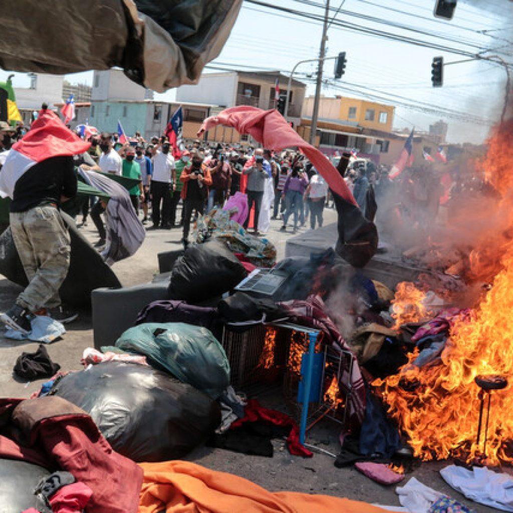 Venezuela exige a Chile que respete la integridad física de sus migrantes