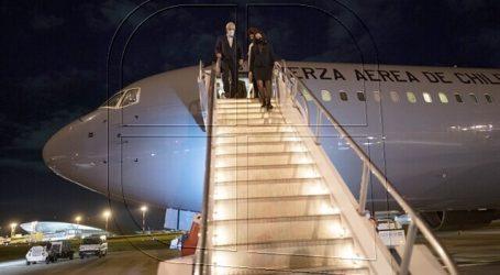 Piñera llega a Uruguay en visita oficial y se reunirá con Luis Lacalle Pou