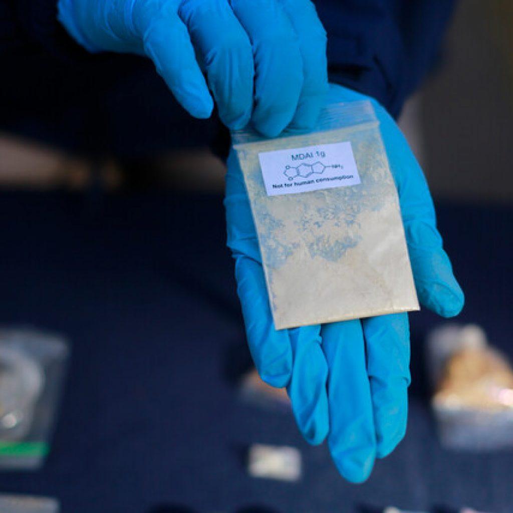 Detienen a 5 personas por tráfico de drogas en Santiago