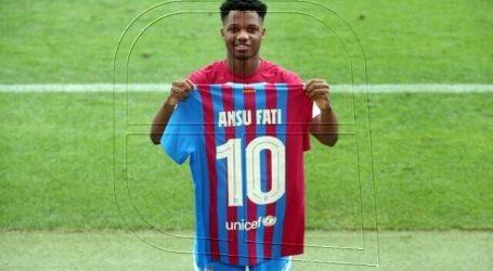 """Ansu Fati: """"Nadie va a igualar a Leo, tengo que seguir mi camino"""""""