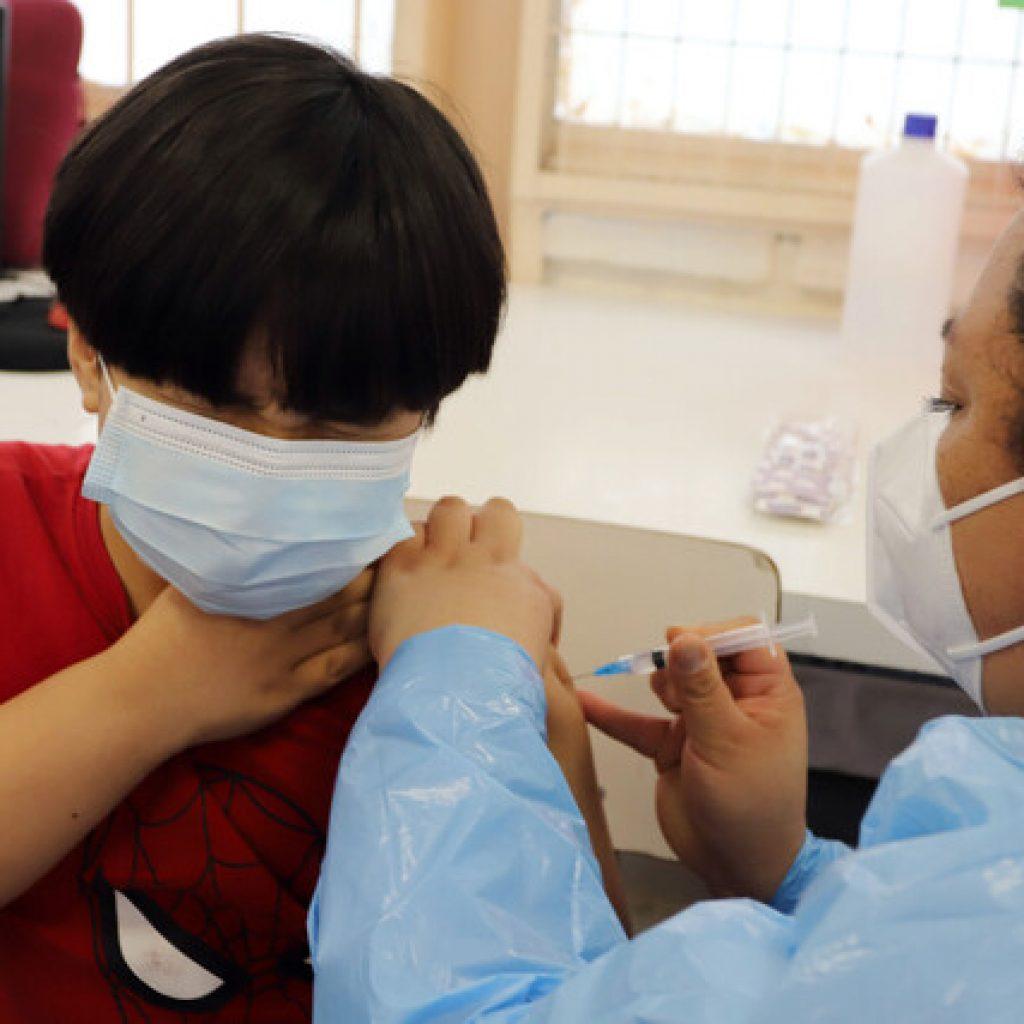 Más de 2 millones 721 mil dosis han sido administradas en niños y adolescentes