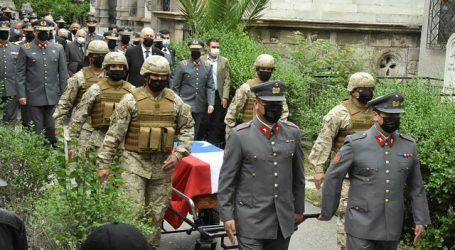 Trasladan al Mausoleo Militar del Ejército los restos del Soldado Desconocido